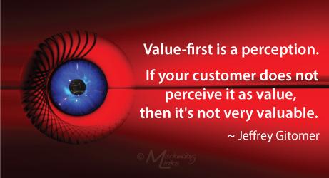 Perception quote by Jeffery Gitomer