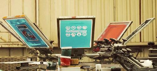 Screenprinting equipment