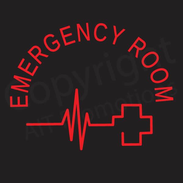 Emergency Room EKG Cross